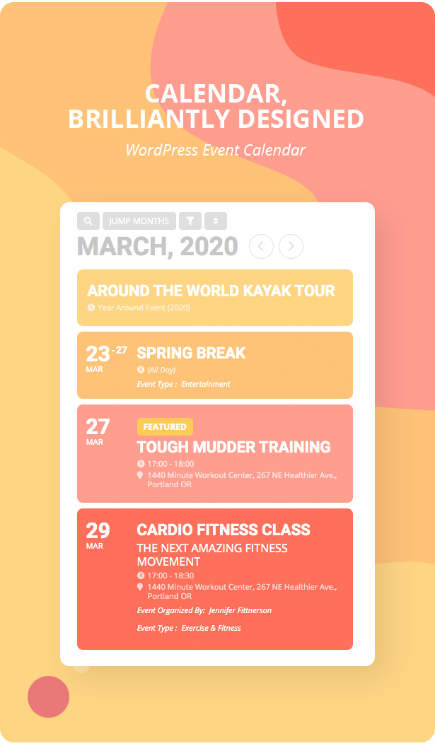 EventON - WordPress Event Calendar Plugin - 2