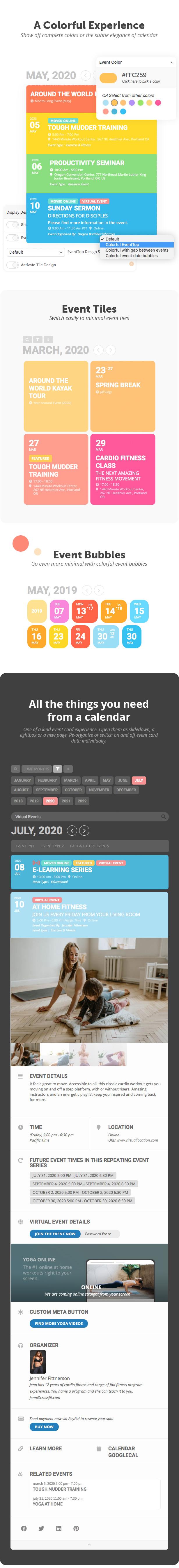 EventON - WordPress Event Calendar Plugin - 4