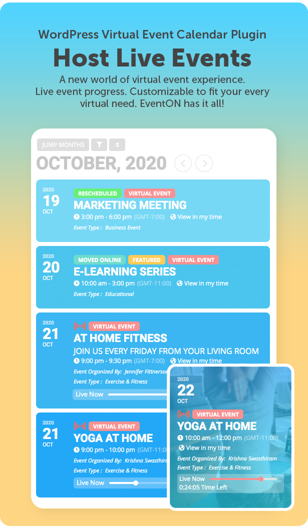 EventON - WordPress Event Calendar Plugin - 2
